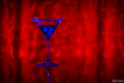 Blue Martini  Filtered, not stirred...