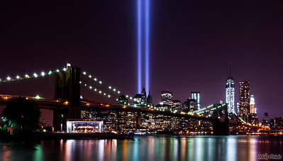 Remembrance:  9/11 Tribute  September 11th Tribute in Light 2013.